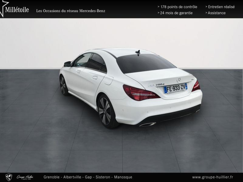 Mercedes Classe CLA 200 d Sensation 4Matic 7G-DCT Euro6c Blanc occasion à Gières - photo n°3