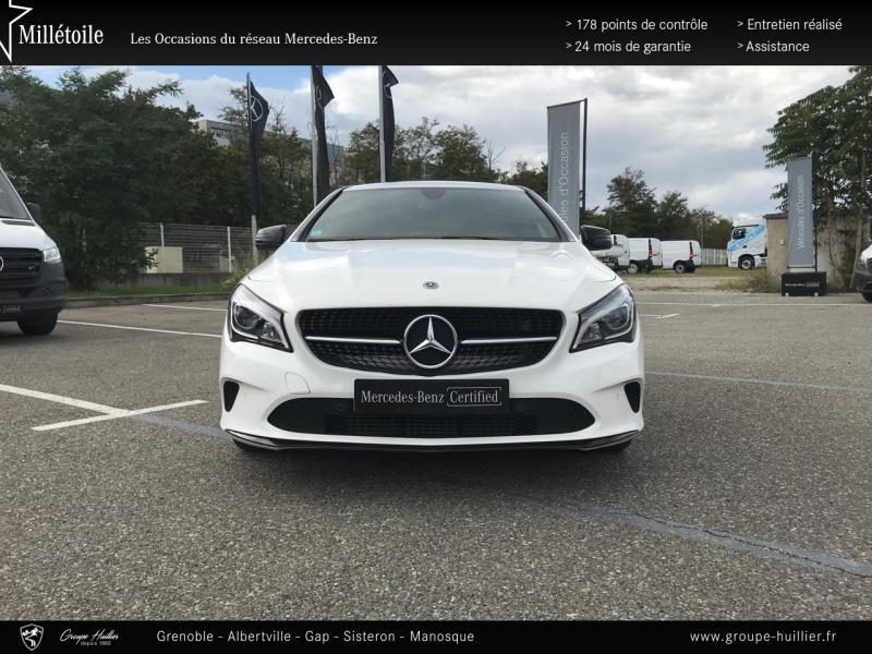 Mercedes Classe CLA 200 d Sensation 4Matic 7G-DCT Euro6c Blanc occasion à Gières - photo n°5