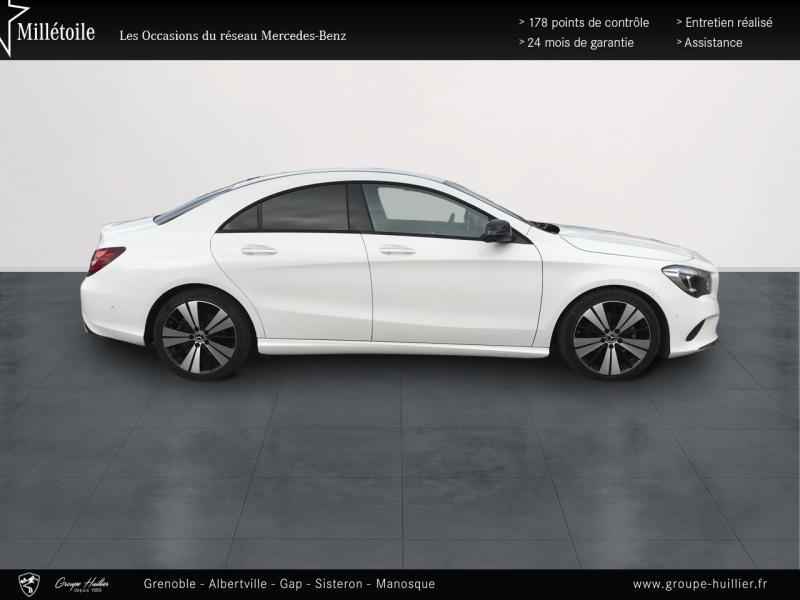 Mercedes Classe CLA 200 d Sensation 4Matic 7G-DCT Euro6c Blanc occasion à Gières - photo n°4