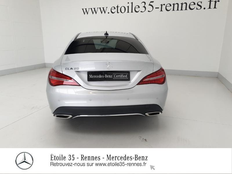 Mercedes Classe CLA 200 d Sensation 7G-DCT Argent occasion à SAINT-GREGOIRE - photo n°18
