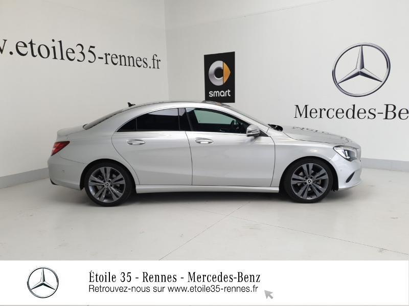 Mercedes Classe CLA 200 d Sensation 7G-DCT Argent occasion à SAINT-GREGOIRE - photo n°4
