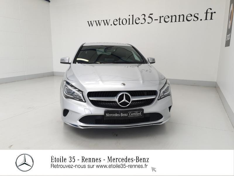 Mercedes Classe CLA 200 d Sensation 7G-DCT Argent occasion à SAINT-GREGOIRE - photo n°5