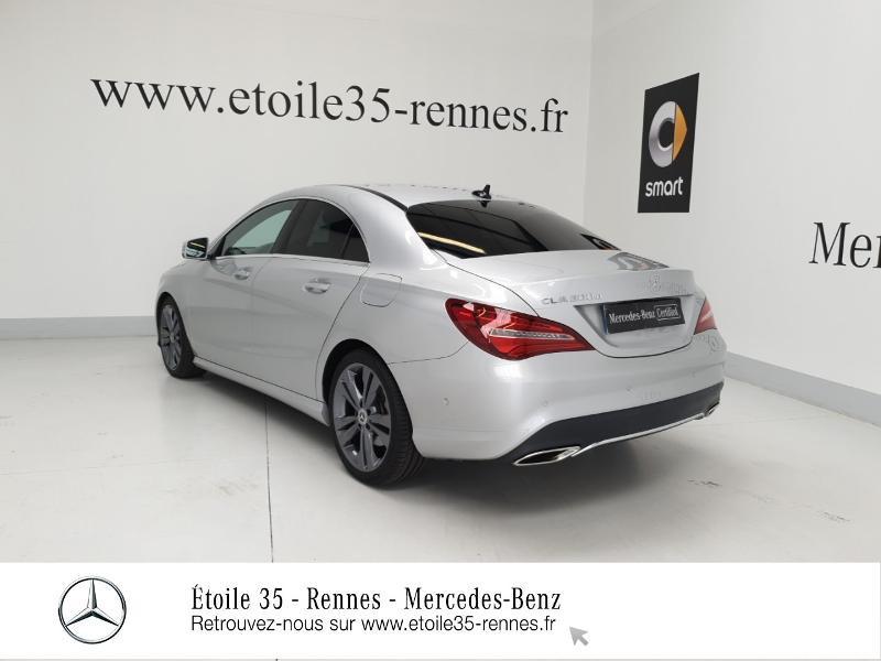 Mercedes Classe CLA 200 d Sensation 7G-DCT Argent occasion à SAINT-GREGOIRE - photo n°3