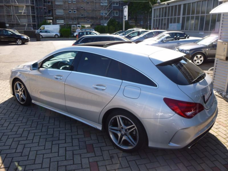 Mercedes Classe CLA 250 Shooting Brake AMG Argent occasion à Beaupuy - photo n°2