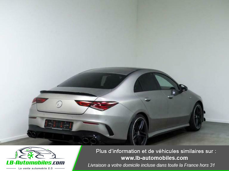 Mercedes Classe CLA 45 AMG 4M Gris occasion à Beaupuy - photo n°3