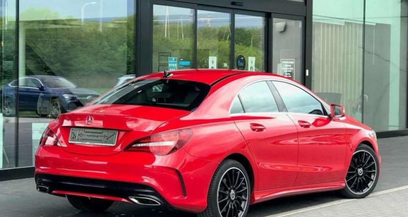 Mercedes Classe CLA I (C117) 180 Fascination 7G-DCT Rouge occasion à Boulogne-Billancourt - photo n°2