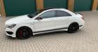 Mercedes Classe CLA Mercedes Classe CLA 45 AMG 4Matic Speedshift DCT A Blanc à Mudaison 34