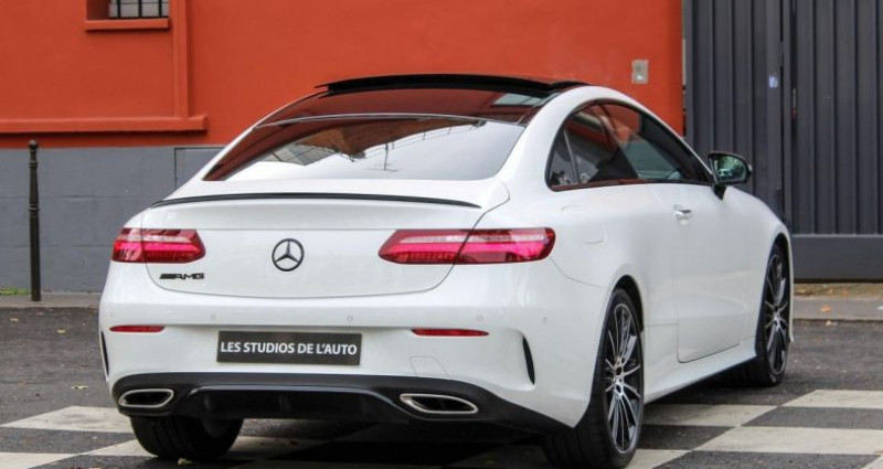 Mercedes Classe E 200 III (C238) 200 184ch Sportline 9G-Tronic Blanc occasion à Boulogne-billancourt - photo n°4