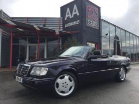 Mercedes Classe E 220 cabriolet  Noir occasion à Castelmaurou - photo n°1