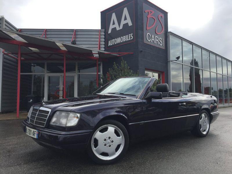 Mercedes Classe E 220 cabriolet occasion 1997 mise en vente à Castelmaurou par le garage BS CARS.COM - photo n°1