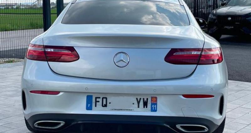 Mercedes Classe E 220 220 d 194ch AMG Line 9G-Tronic Gris occasion à BARBEREY SAINT SULPICE - photo n°4