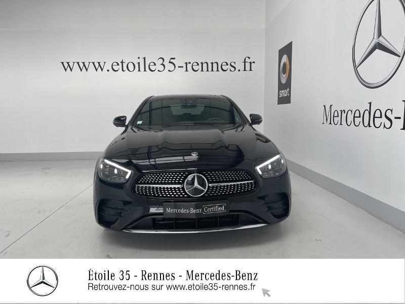 Mercedes Classe E 220 220 d 194ch AMG Line 9G-Tronic Noir occasion à SAINT-GREGOIRE - photo n°5