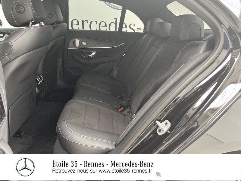 Mercedes Classe E 220 220 d 194ch AMG Line 9G-Tronic Noir occasion à SAINT-GREGOIRE - photo n°11