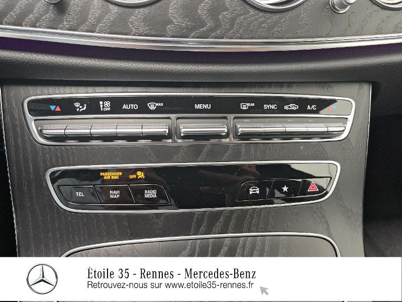Mercedes Classe E 220 220 d 194ch AMG Line 9G-Tronic Noir occasion à SAINT-GREGOIRE - photo n°20