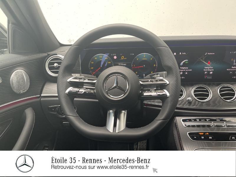 Mercedes Classe E 220 220 d 194ch AMG Line 9G-Tronic Noir occasion à SAINT-GREGOIRE - photo n°7