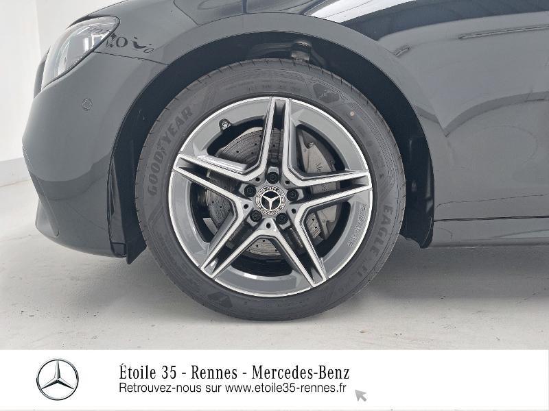 Mercedes Classe E 220 220 d 194ch AMG Line 9G-Tronic Noir occasion à SAINT-GREGOIRE - photo n°16