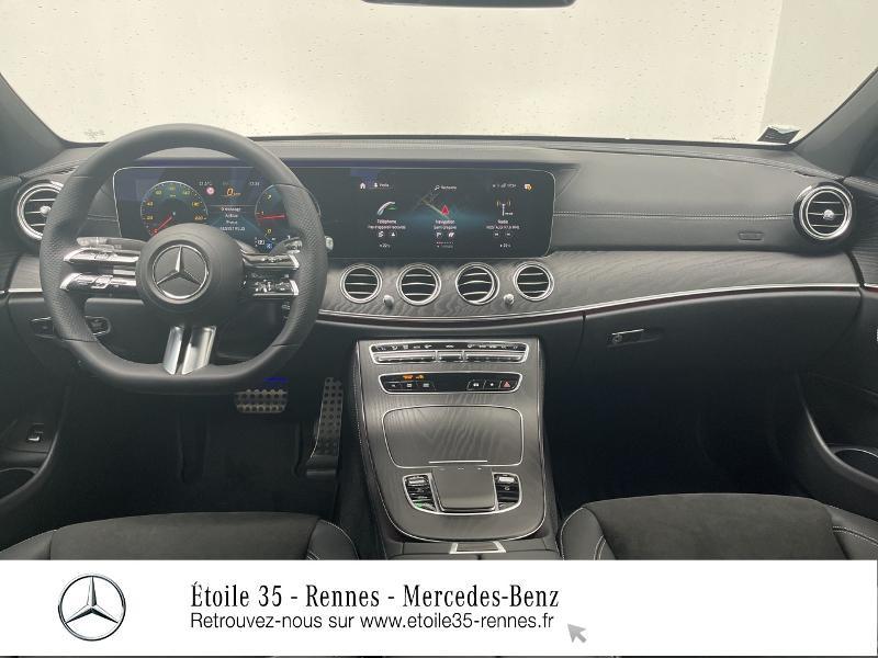 Mercedes Classe E 220 220 d 194ch AMG Line 9G-Tronic Noir occasion à SAINT-GREGOIRE - photo n°6