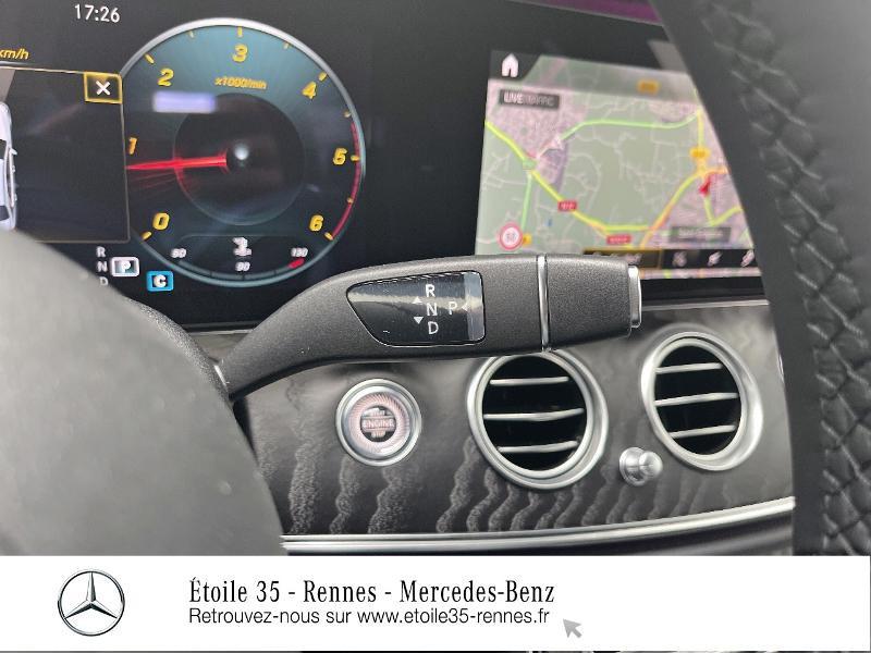 Mercedes Classe E 220 220 d 194ch AMG Line 9G-Tronic Noir occasion à SAINT-GREGOIRE - photo n°10