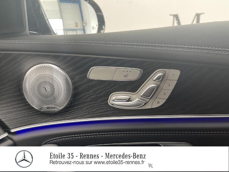 Mercedes Classe E 220 220 d 194ch AMG Line 9G-Tronic Noir occasion à SAINT-GREGOIRE - photo n°19