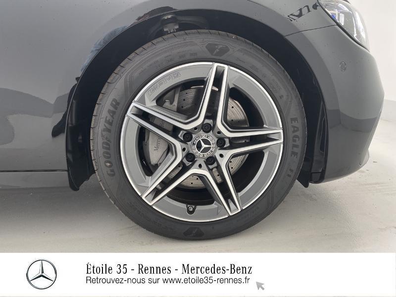 Mercedes Classe E 220 220 d 194ch AMG Line 9G-Tronic Noir occasion à SAINT-GREGOIRE - photo n°13