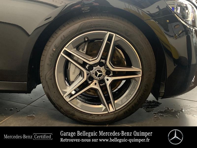 Mercedes Classe E 220 220 d 194ch AMG Line 9G-Tronic Noir occasion à QUIMPER - photo n°16
