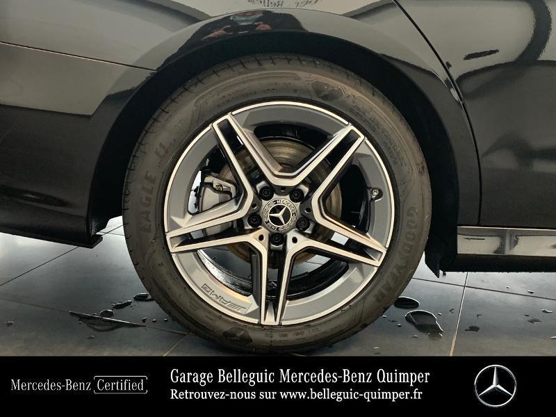 Mercedes Classe E 220 220 d 194ch AMG Line 9G-Tronic Noir occasion à QUIMPER - photo n°15