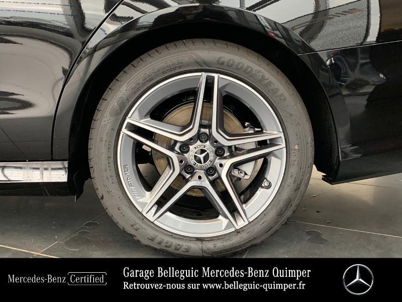 Mercedes Classe E 220 220 d 194ch AMG Line 9G-Tronic Noir occasion à QUIMPER - photo n°14