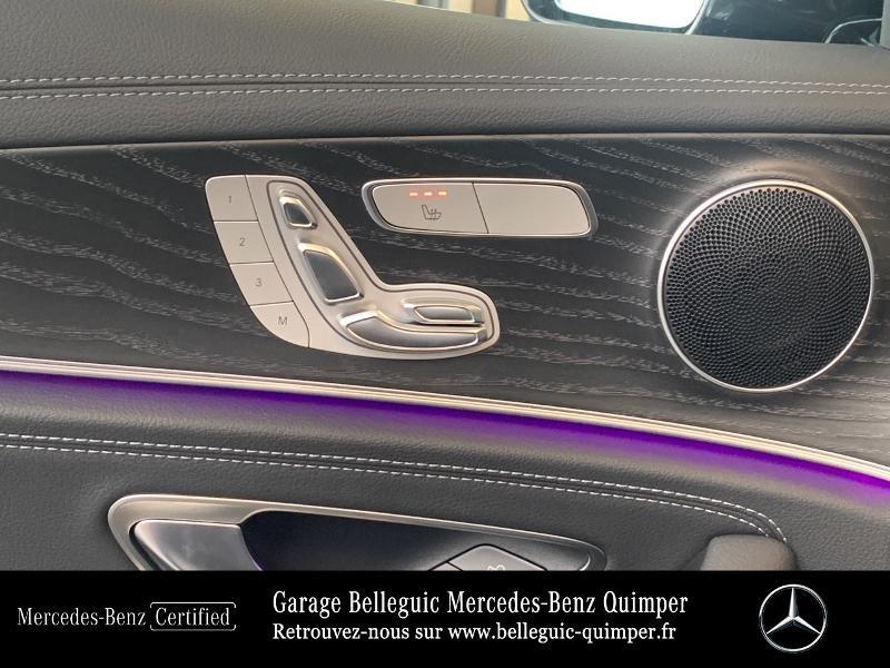 Mercedes Classe E 220 220 d 194ch AMG Line 9G-Tronic Noir occasion à QUIMPER - photo n°17