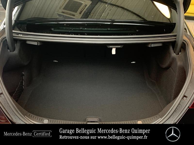 Mercedes Classe E 220 220 d 194ch AMG Line 9G-Tronic Noir occasion à QUIMPER - photo n°12