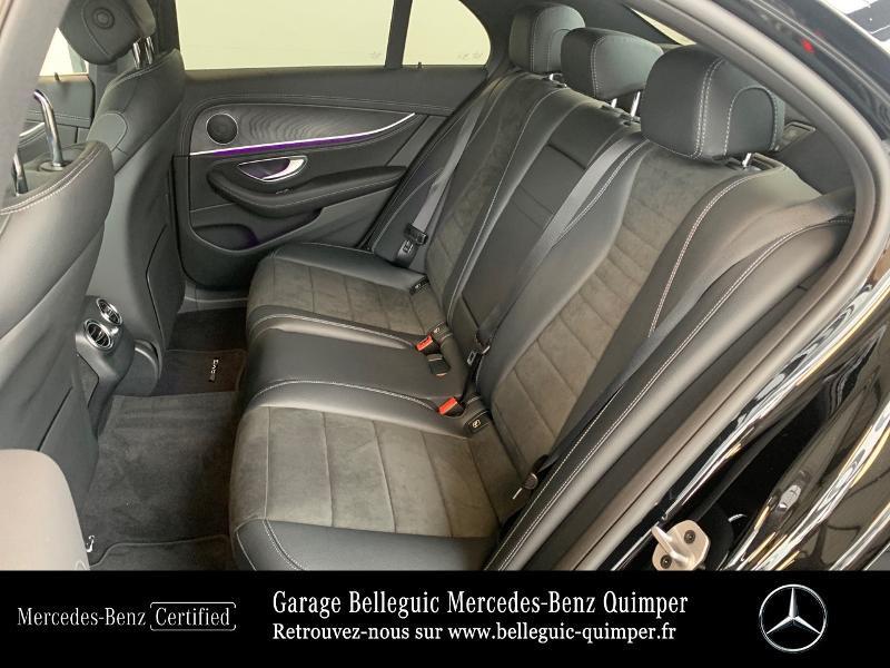 Mercedes Classe E 220 220 d 194ch AMG Line 9G-Tronic Noir occasion à QUIMPER - photo n°11