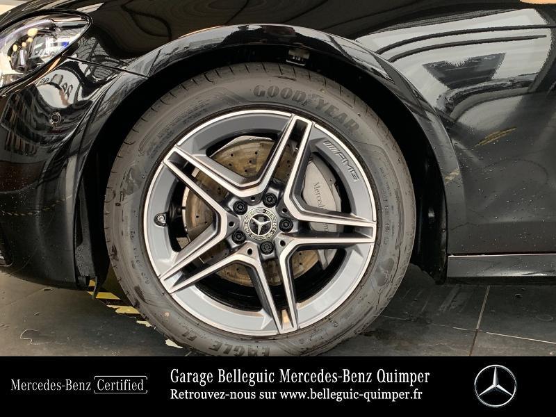 Mercedes Classe E 220 220 d 194ch AMG Line 9G-Tronic Noir occasion à QUIMPER - photo n°13