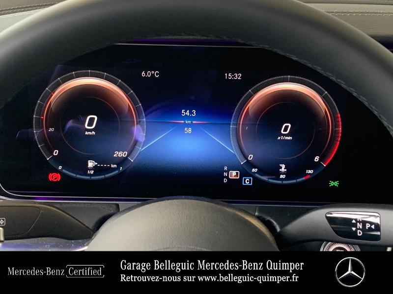 Mercedes Classe E 220 220 d 194ch AMG Line 9G-Tronic Noir occasion à QUIMPER - photo n°9