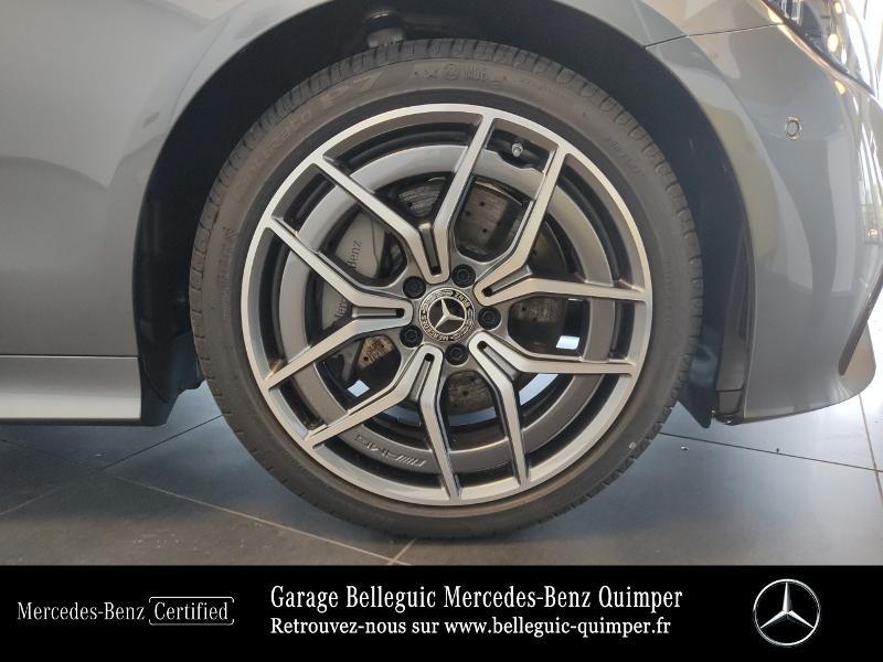 Mercedes Classe E 220 220 d 194ch AMG Line 9G-Tronic Gris occasion à QUIMPER - photo n°14