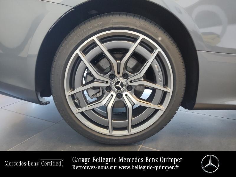 Mercedes Classe E 220 220 d 194ch AMG Line 9G-Tronic Gris occasion à QUIMPER - photo n°15