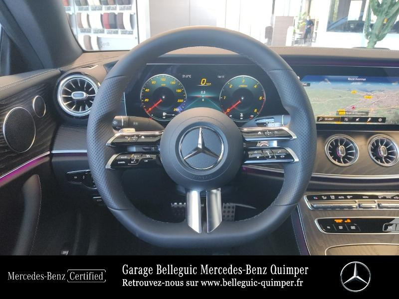 Mercedes Classe E 220 220 d 194ch AMG Line 9G-Tronic Gris occasion à QUIMPER - photo n°7