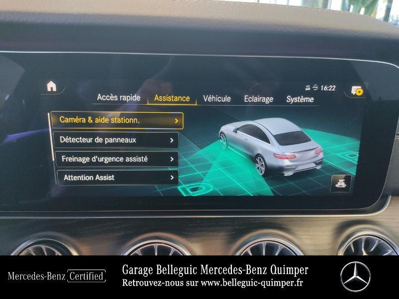 Mercedes Classe E 220 220 d 194ch AMG Line 9G-Tronic Gris occasion à QUIMPER - photo n°20