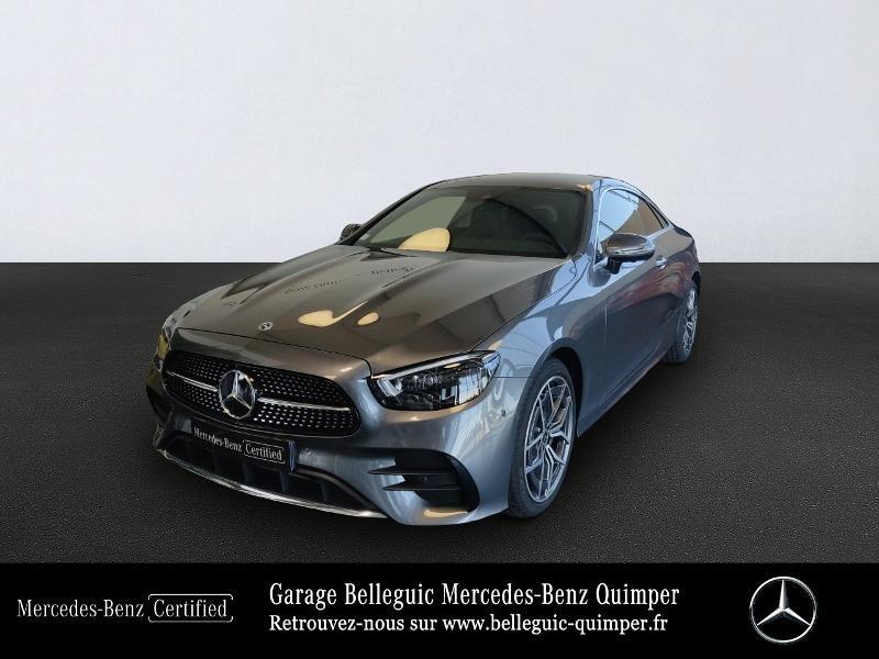 Mercedes Classe E 220 220 d 194ch AMG Line 9G-Tronic Gris occasion à QUIMPER