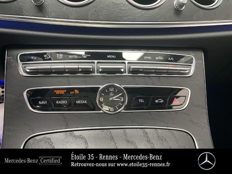 Mercedes Classe E 220 220 d 194ch Avantgarde Line 9G-Tronic Gris occasion à SAINT-GREGOIRE - photo n°18