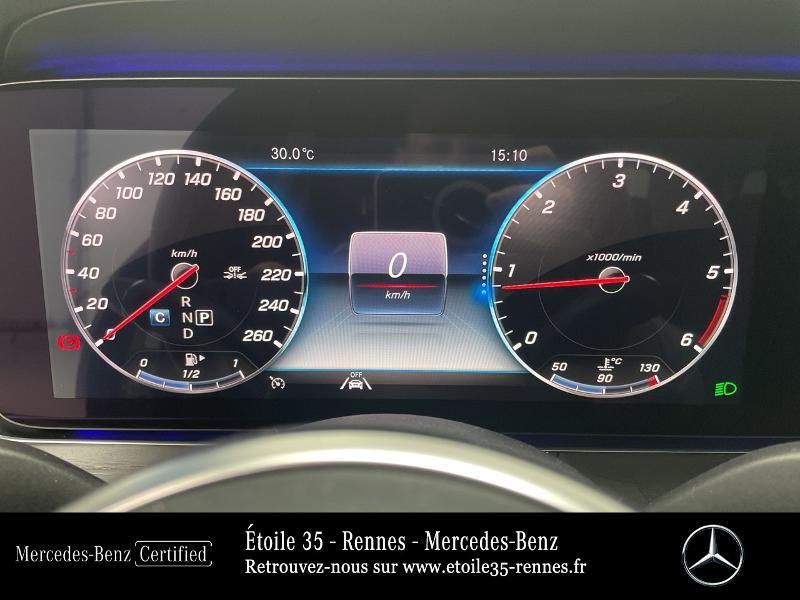 Mercedes Classe E 220 220 d 194ch Avantgarde Line 9G-Tronic Gris occasion à SAINT-GREGOIRE - photo n°9