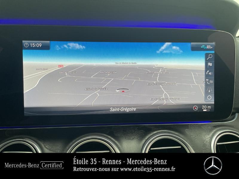 Mercedes Classe E 220 220 d 194ch Avantgarde Line 9G-Tronic Gris occasion à SAINT-GREGOIRE - photo n°8