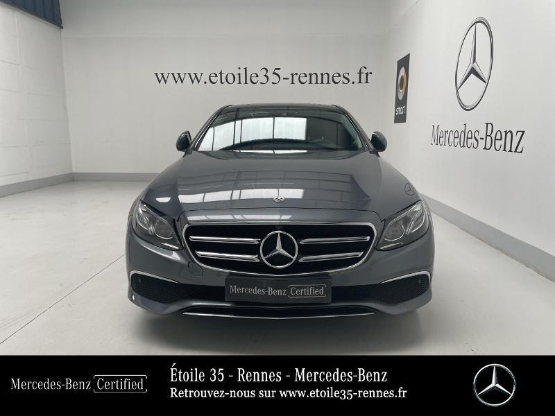 Mercedes Classe E 220 220 d 194ch Avantgarde Line 9G-Tronic Gris occasion à SAINT-GREGOIRE - photo n°5