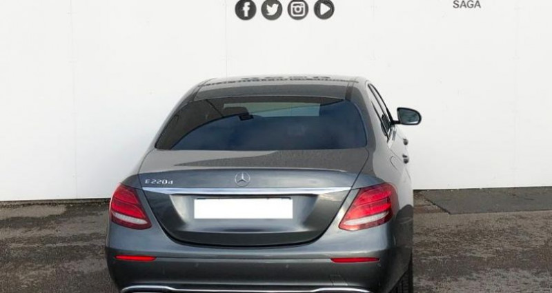 Mercedes Classe E 220 220 d 194ch Executive 9G-Tronic Gris occasion à Boulogne Sur Mer - photo n°5