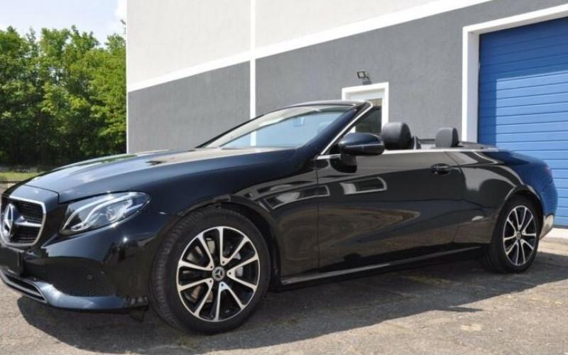 Mercedes Classe E 220 220 D 194CH EXECUTIVE 9G-TRONIC Noir occasion à Villenave-d'Ornon - photo n°4