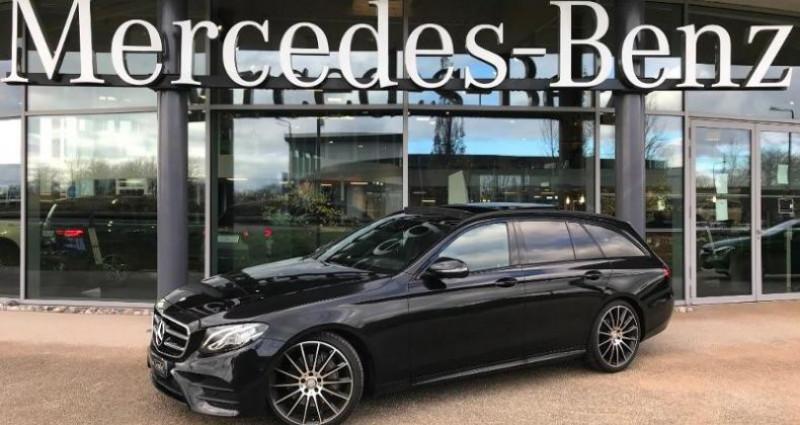 Mercedes Classe E 220 220 d 194ch Sportline 9G-Tronic Noir occasion à Valenciennes