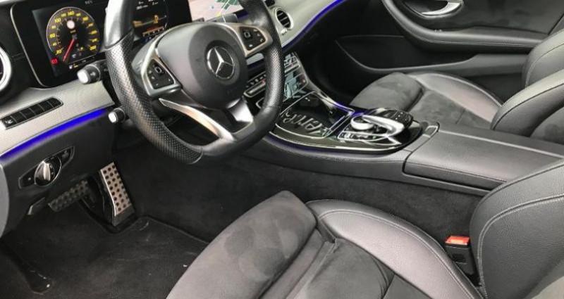 Mercedes Classe E 220 220 d 194ch Sportline 9G-Tronic Noir occasion à Valenciennes - photo n°7