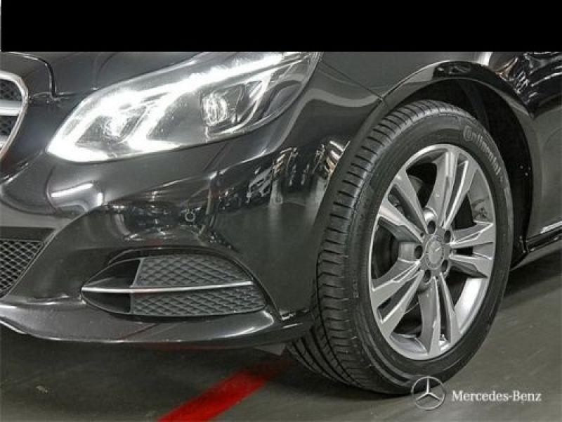 Mercedes Classe E 250 250 CDI Avantgarde Noir occasion à Beaupuy - photo n°8