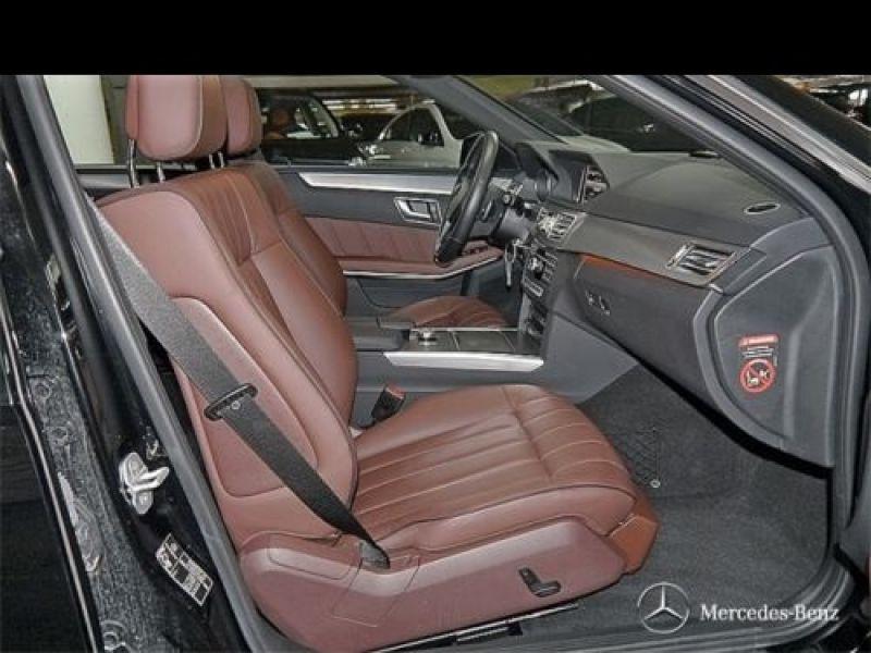 Mercedes Classe E 250 250 CDI Avantgarde Noir occasion à Beaupuy - photo n°3