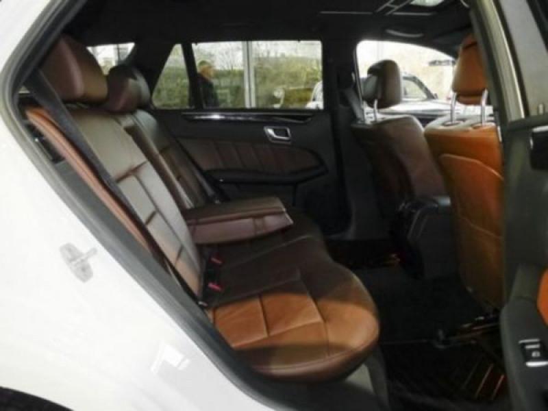 Mercedes Classe E 350 350 CDi AMG 252 CH Blanc occasion à Beaupuy - photo n°4