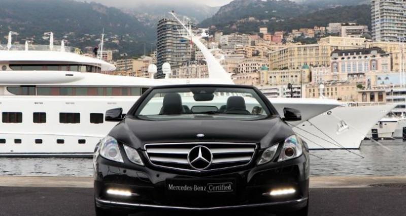Mercedes Classe E 350 Cabriolet 350 CDI Executive BE BA Noir occasion à MONACO - photo n°2