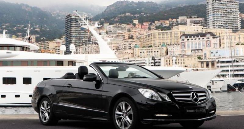 Mercedes Classe E 350 Cabriolet 350 CDI Executive BE BA Noir occasion à MONACO - photo n°3